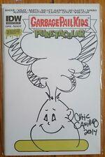 Garbage Pail Kids Puketacular Hand Drawn Adam Bomb Sketch Variant NM 1st Print