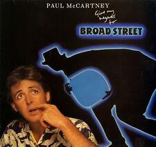 PAUL McCARTNEY Give My Regards To Broad Street   UK VINYL LP EXCELLENT CONDITION