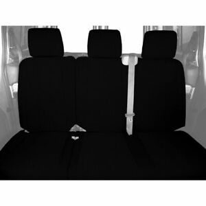 CalTrend SportsTex Rear Custom Seat Cover for Ford 2013-2014 F-150 - FD444