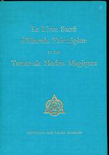 LE LIVRE SACRE D'HERMES TRISMEGISTE ET SES 36 HERBES MAGIQUES. ALCHIMIE.