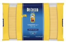 5 Lbs De Cecco Pasta Linguine No.7  Made in Italy