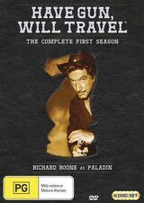 Have Gun - Will Travel : Season 1 (DVD, 2012, 6-Disc Set)