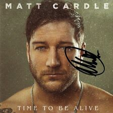 Matt Cardle - Time To Be Alive [SIGNED CD Album]