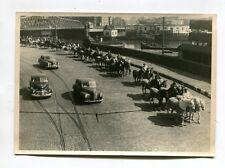 Vintage Photo Ringling Bros Circus Animal Parade Willis Ave Bridge Ny horses 2