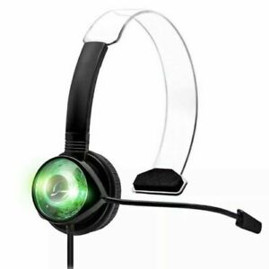 PDP 037-008-GR-BLD-CHLD Afterglow Wired Communicator For Xbox 360 - Black/Green