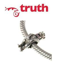 Genuine TRUTH PK 925 925 sterling silver & enamel MEERKAT charm bead