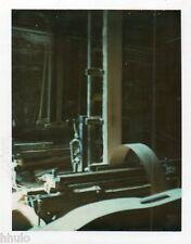 POL644 Polaroid Photo Vintage Original usine machine abstract