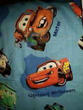 "Springs Sewing Fabric Childs Disney Pixar CARS Mater Lightening McQueen 3ydX45"""