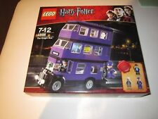 LEGO HARRY POTTER KNIGHT BUS 4866- SLIGHT CREASING TO BOX - NEW/BOXED/SEALED