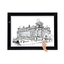 A2-S USB LED Artists Drawing Pad Animation Tracing Light Box Tablet Board