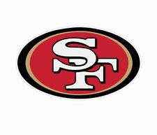 San Francisco 49ers NFL Football Color Logo Sports Decal Sticker - Free Shipping