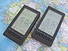 Vintage Mini Muji  Digital Travel Alarm Clocks