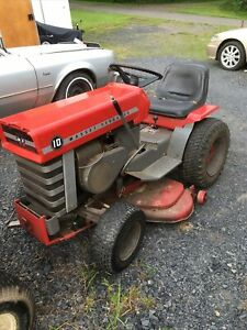 Massey Ferguson 10 Garden Tractor  Parts Or Restore