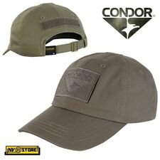 CAPPELLO BERRETTO CONDOR TACTICAL CAP ORIGINALE US ARMY MILITARE SOFTAIR  BROWN 291a4733441a