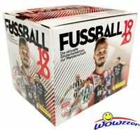 2019/20 Panini Fussball Soccer Sticker Box-250 Stickers-ERLING HAALAND RC Year!