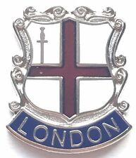 London Crest England Small Enamel Lapel Pin Badge (T0103)