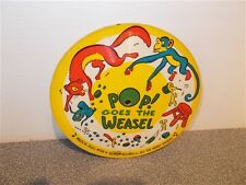 * Music Tales . Pop Goes The Weasel . Cardboard Picture Record