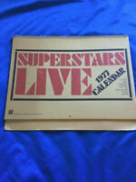 Led zeppelin Warner pioneer calendar 1977 YES ELP Deep Purple