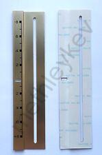GOLD PITCH TRIM FITS TECHNICS SL1210 SL1200 MK2 MK3 MK5 DISPLAY STICKER DECAL