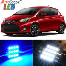 6 x Premium Blue LED Lights Interior Package for Toyota Yaris 2007-2017 + Tool