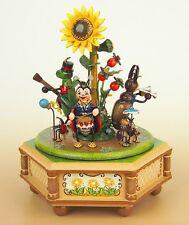 Spieldose Musikdose Käfertal, Miniatur Hubrig Volkskunst Erzgebirge 104h1003
