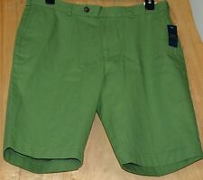 "NWT Mens ""346"" BROOKS BROTHERS Green Color Shorts Size 36"