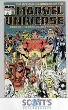 OFFICIAL HANDBOOK OF THE MARVEL UNIVERSE  #18  FN/VF