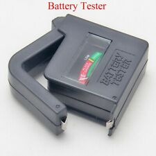Universal Battery Tester Checker For AA AAA C D 9V 1.5V Button Cell Batteries SG