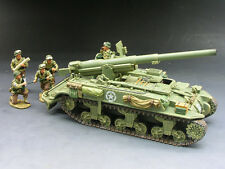 King and Country DD078 WWII  M12 155mm Gun Motor Carriage New Retired & Sold Out