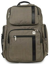 Ju Ju Be Xy Vector Backpack Baby Diaper Bag w/ Light Changing Pad Forest Green