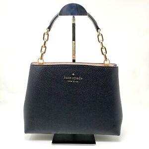 Kate Spade Aubrey Satchel or Crossbody Black Leather Purse MSRP $379