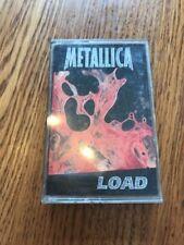 Metallica Load Rare Vintage Cassette Ships N 24h