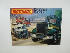 Matchbox Superfast 1982/83 Catalogue DUTCH Edition - No Graffiti - VN Mint RARE