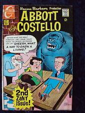 ABBOTT & COSTELLO #2 1968 CHARLTON COMICS SILVER AGE  SOLID VG