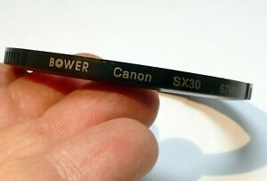 67mm Plastic Ring Adapter For Canon SX540 SX530 SX70 SX30 SX20 cameras