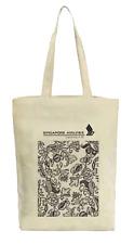 Authentic Singapore Airlines SQ Batik Motif Print Tote Bag (Fits A3)