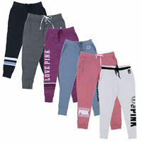 Victoria's Secret Pink Sweatpants Joggers Skinny Collegiate Lounge Pants Nwt New