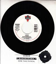 "BANANARAMA  Venus 7"" 45 rpm vinyl record NEW + jukebox title strip"