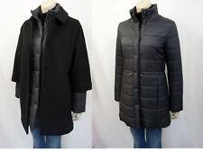 699€ NEU BOSS HUGO BOSS 2in1 Mantel & Steppmantel Gr.36 Coat Schwarz Grau