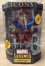 Spider-Man Icons Marvel Legends Toy Biz MIB