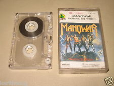 MANOWAR - Fighting The World - MC Cassette tape 1987/2049