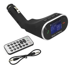 Lcd Handsfree Bluetooth Car Fm Transmitter Radio Adapter Mp3 Player Usb Charger