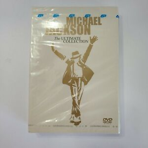 Michael Jackson The Ultimate Collection CD DVD Set NEW SEALED BOX