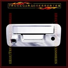 For NISSAN Titan 2013 2014 2015 Chrome Tailgate Cover WITH Camera Hole & Keyhole
