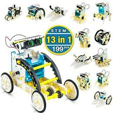 13 in 1 DIY Building Science Experiment Toy Set Solar Robot Educational Kit