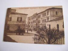 Sassari - Terranova Pausania scuole comunali Piazza Municipio - sped f. p. 1931