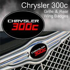Chrysler 300c Logo Grille and Rear Wing Badge Emblems