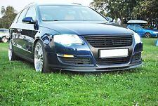 VW-Passat B6 Front Bumper CUPRA R Line Euro Spoiler Lip Valance Splitter Cup R36