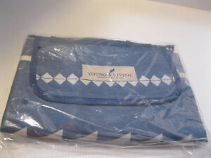 Young Living June Blue Compact Picnic Blanket Promo Gift New in Package