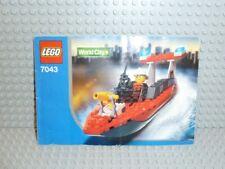 LEGO® Town Classic Bauanleitung 7043 Feuerwehr Boot ungelocht instruction B369
